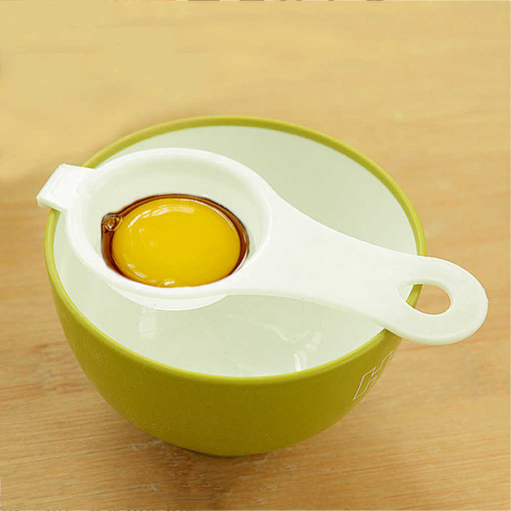 Durable Plastic Egg Divider Egg Tool Kitchen Cooking Accessories
