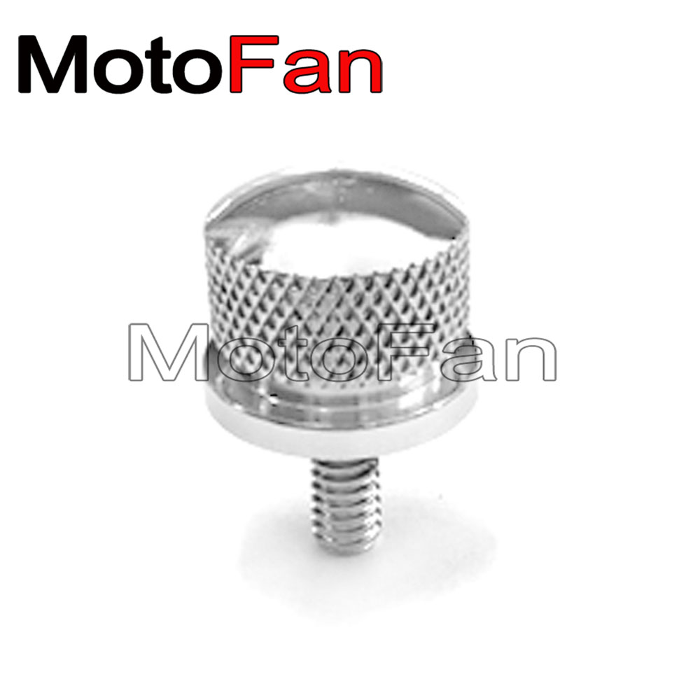 6mm Motorcycle Rear Seat Bolt Screw Nut For Harley Softail Dyna 1996-2017 Models