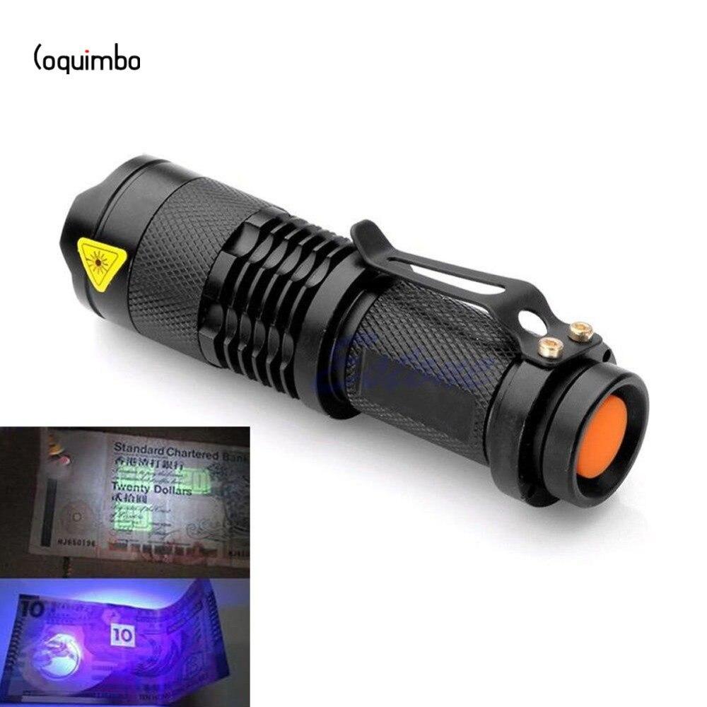 Lanternas e Lanternas checker dinheiro detecção ultravioleta lanterna Suporte ao Dimmer : 2-4 Limas