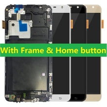 цена на For Samsung Galaxy J7 NXT Core J701F J701M J701F/DS J701 J701H LCD Display Touch Screen Digitizer with Frame Home Button + Kits