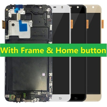 Voor Samsung Galaxy J7 NXT Core J701F J701M J701F/DS J701 J701H Lcd Touch Screen Digitizer met Frame home Button + Kits