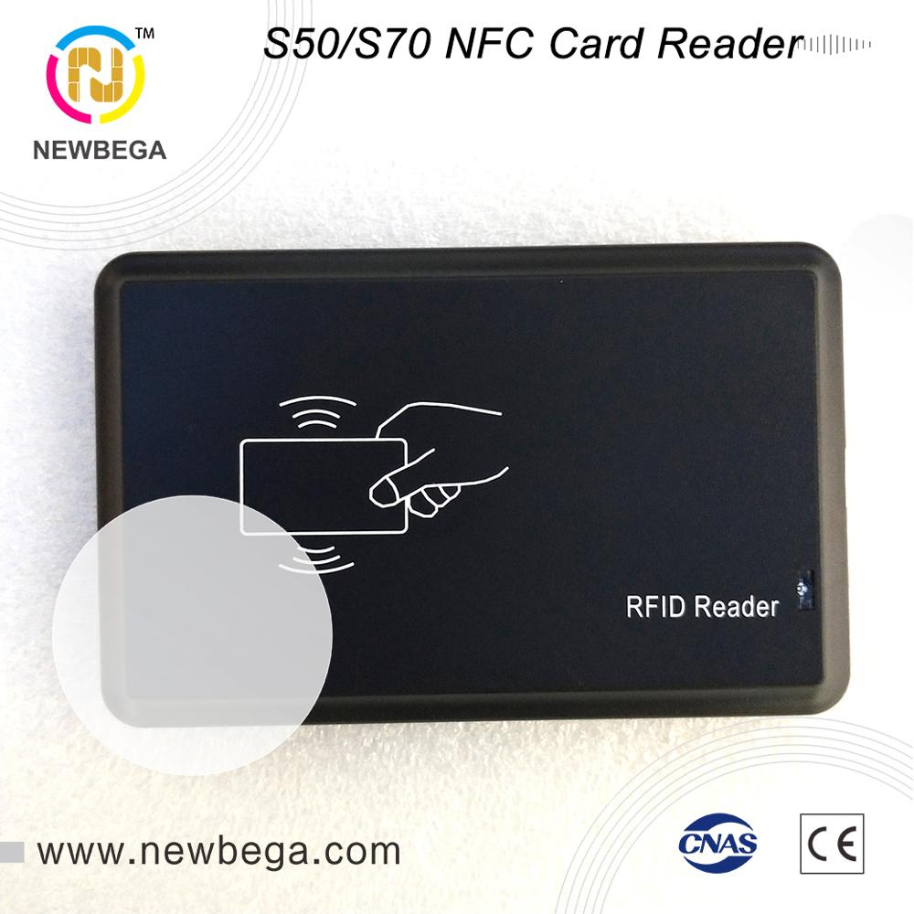 RFID IC Card Reader R20XC VIP Suitable For S50 S70 NFC Chip Member Management HF 13.56MHz USB Interface Windows Tags