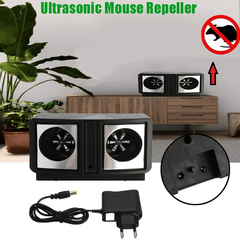 Ultrasonic Mouse Rat Mosquito Repeller Indoor Electronic Rodent Pest Reject Mice Insect Repellent Control Pest Reject Repeller