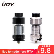 big sale!!! Original IJOY Tornado Hero RTA atomizer & Sub Ohm Tank 5.2ml Kennedy-style airflow w/ TRC-coil 0.3ohm Huge Vapor