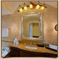 Glas Blumen Grünen Blättern Wand Lampen Nordic Vintage Kreative Wandleuchte Wohnzimmer Schlafzimmer Nachttischlampen Art Deco Spiegel Licht-in Wandleuchten aus Licht & Beleuchtung bei