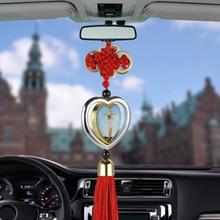 Car Pendant Jesus Cross Virgin Mary Picture Hanging Ornament Christian Automobil