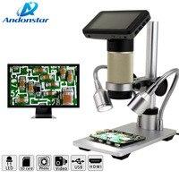 Andonstar ADSM201 inspection HDMI microscope HDMI digital microscope long object distance microscpe