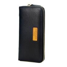 2019  Luxury Male Leather Purse Men's Clutch Wallets Handy Male Bags Business Carteras Mujer Wallets Men Brown Dollar Price
