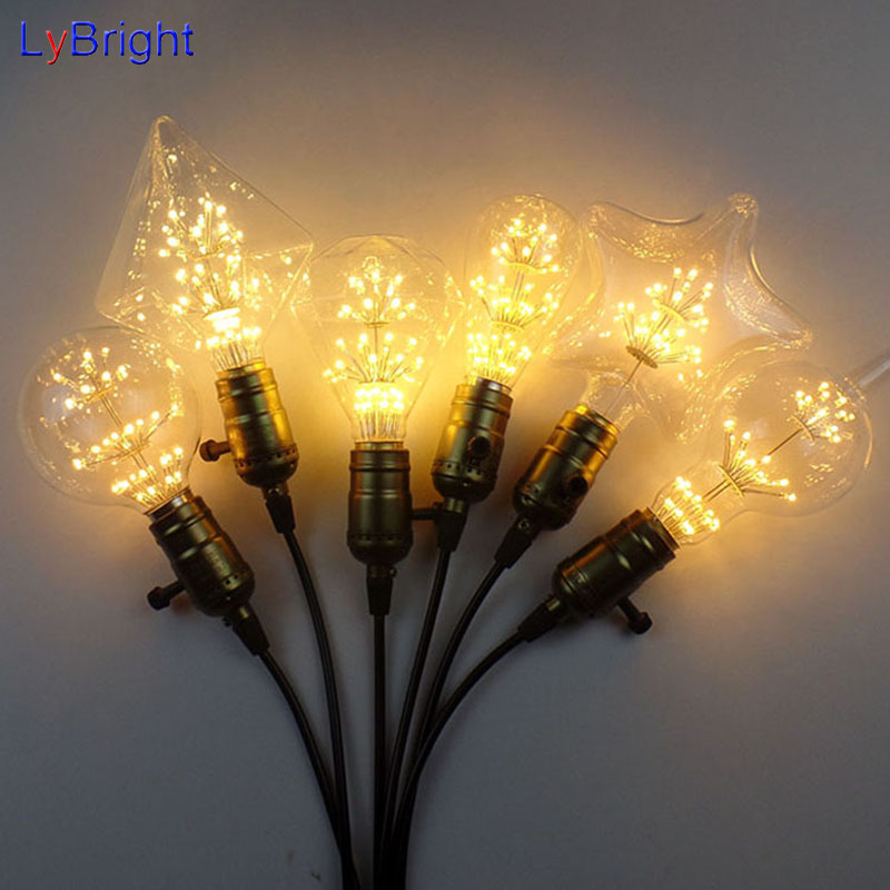 g125g95g80st64a19 3w incandescent vintage light bulb e27 retro edison light bulb ac 220v wholesale for living room christmas - Commercial Christmas Lights Wholesale