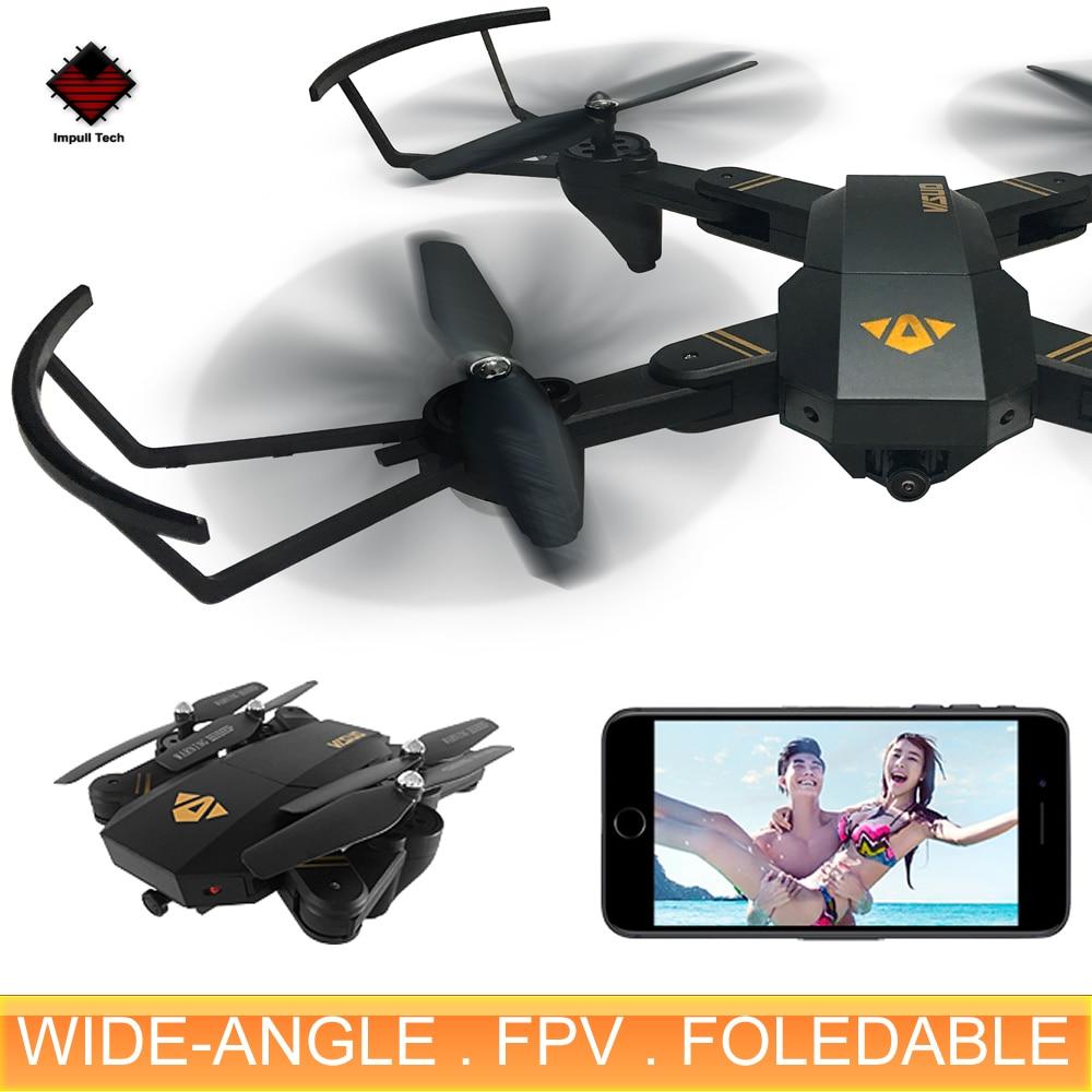 XS809W Mini Foldable Drone RC Selfie Drone with Wifi FPV HD - Հեռակառավարման խաղալիքներ