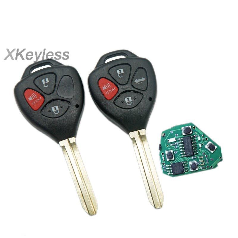 4 Button Keyless Entry Fit 2005-2008 Toyota Avalon Remote Control Car Key Fob