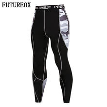 2018 New 3D print Camo Leggings Men Pattern Compression Tights Pants Skinny Sweatpants crossfit Fitness Trousers Male(China)