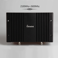 Lintratek powerful signal booster gsm 2G 3G 4G 2100 2600Mhz B1 B7 repeater 4G LTE 70dBi 0.2W mobile signal amplifier LTE #8