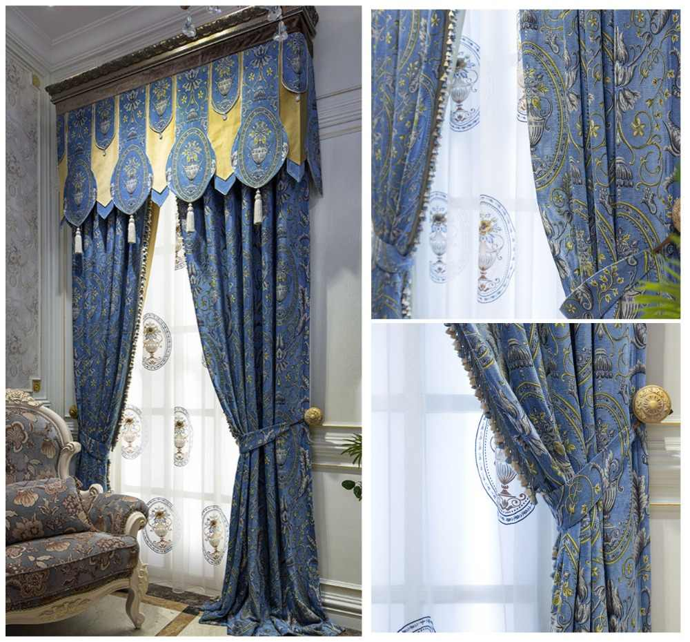 Luxurious French Style Light Blue