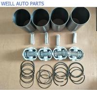 WEILL Four matching (Cylinder Liner Piston ring piston pin) for great wall HAVAL H3 H5 4G64 engine