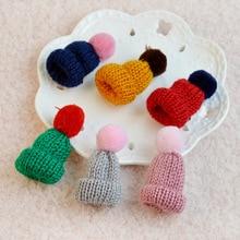 Милая шерстяная вязаная шапка с бубоном брошь булавки свитер нашивка шапки унисекс броши на булавке для женщин подарок к Рождеству