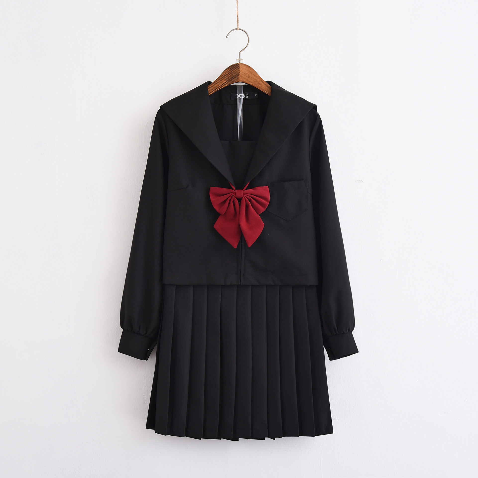 Japan Jk Long Sleeve Sets School Uniform Girls Small Fresh Autumn High School Women Novelty Sailor Suits Uniforms S/M/L/XL/XXL