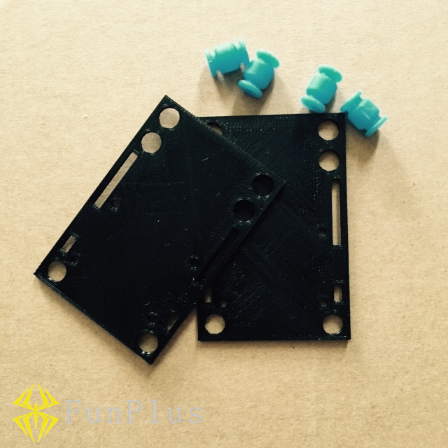 3D Printed Anti-vibration Mount Holder Shock Absorber for Mobius 808 Camera Multirotors FPV with Damper Ball