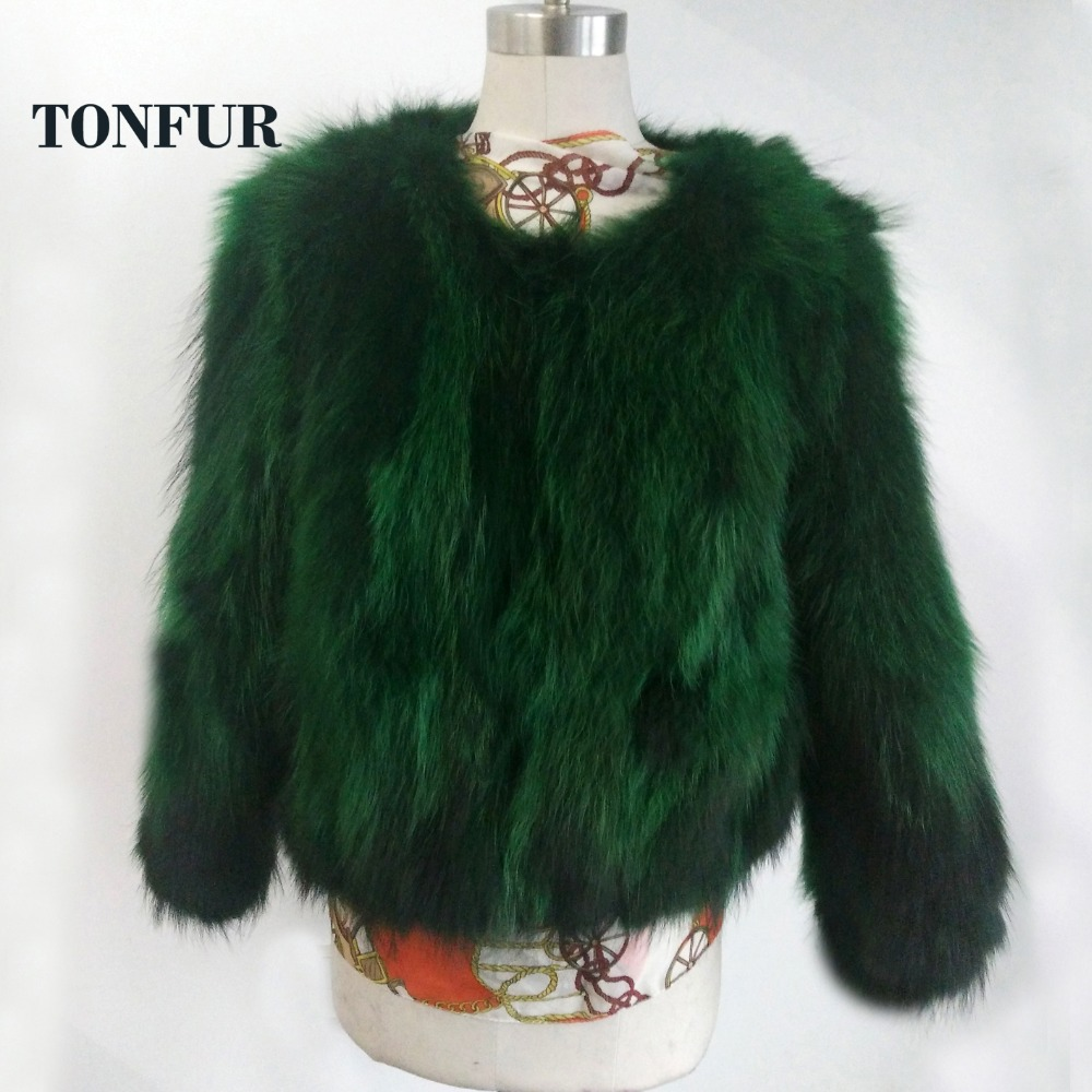 2019 New Fashion Real Raccoon Fur Jacket Women Natural True Fur Coat Factory Outlet Wholesale Fur Waistcoat SR18
