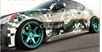 Camouflage custom car sticker bomb Camo Vinyl Wrap Car Wrap With Air  Release bomb sticker Car Body S