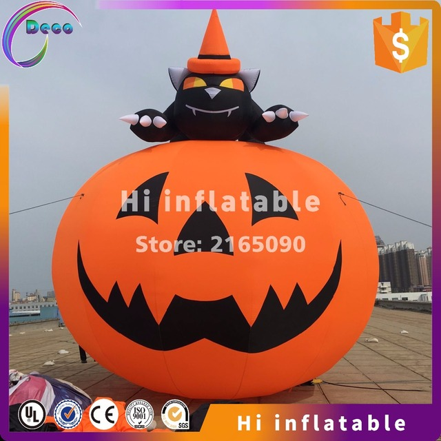 87m outdoor inflatable skull arch for halloween decoration sale