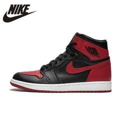 Nike Air Jordan 1 OG Banned AJ1 Original New Arrival Breathable Mens Basketball Shoes Comfortable Sneakers For Men Shoes