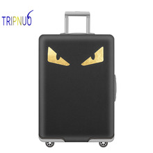 TRIPNUO Thickest Monster Travel Luggage Suitcase Protective Cover, Stretch, Apply To 18-32 Inch Cases, Travel Accessorie