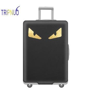 3cc26b324 TRIPNUO funda protectora de maleta de viaje monstruo más gruesa, elástica,  aplicar a fundas