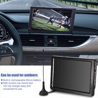 Digital Television ATSC Portable TV 1080P HD HDMI Video Player for Home Car EU Plug 12inch