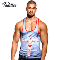 Taddlee Nagelneuen männer Tank Top Shirts T-shirts Unterhemden Sleeveless Singuletts Stringer Weste Fitness Turnhalle Muskel Basketball