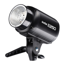 Godox E250 speedlite flash Pro Photography Studio Strobe Photo Flash Light Lamp 250W Studio Flash 220V and 110V