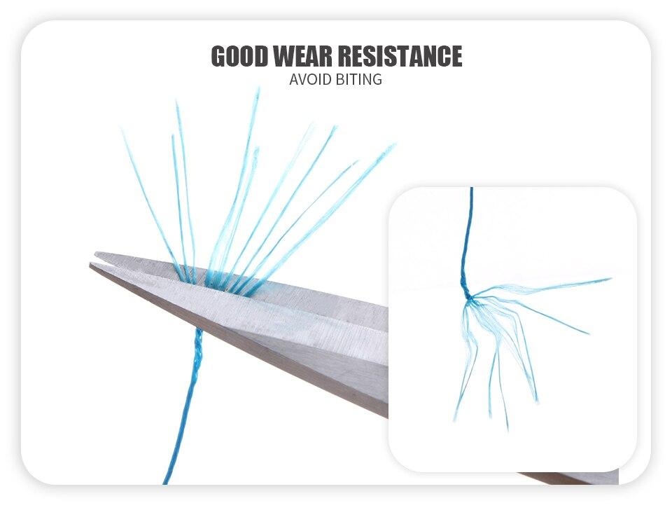 Angryfish 9 fios tece trançado 500 m