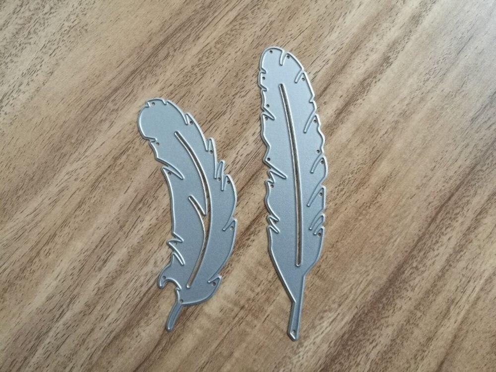 все цены на Metal Feathers cutting Dies Stencils for DIY Scrapbooking photo album Decorative Embossing DIY Paper Cards