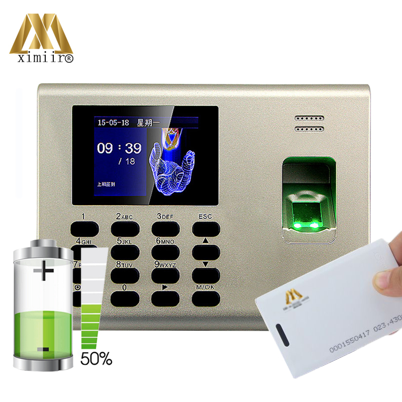 TCP/IP communication K40 fingerprint time clock optical sensor finger time attendance and access control ID card time recorderTCP/IP communication K40 fingerprint time clock optical sensor finger time attendance and access control ID card time recorder