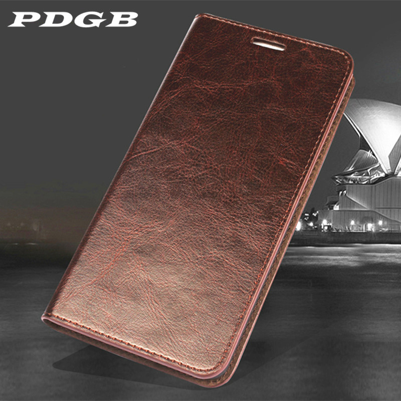 PDGB Wallet Genuine Leather Case for Huawei P30 Pro P20 Lite Honor 10 9 Lite 9i Play Mate 20 Pro Book Retro Flip Case Soft Cover