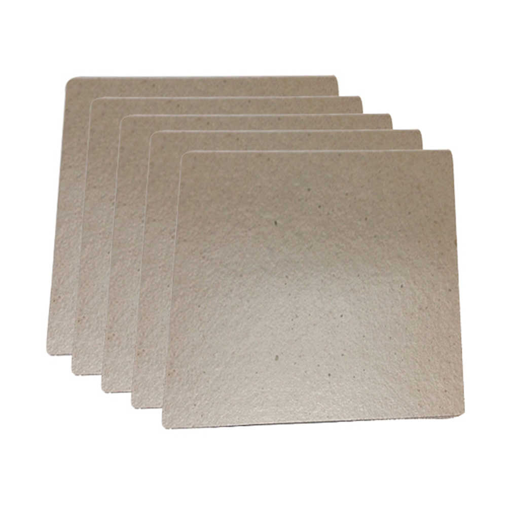 5pcs Mica Plates for Midea Microwave Replacement 120x130mm Mica Plate Universal Kitchen Microwave Oven Parts Accessories