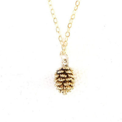 European and american new simple alloy gold color pine nut pendant european and american new simple alloy gold color pine nut pendant necklace for women in pendant necklaces from jewelry accessories on aliexpress aloadofball Gallery