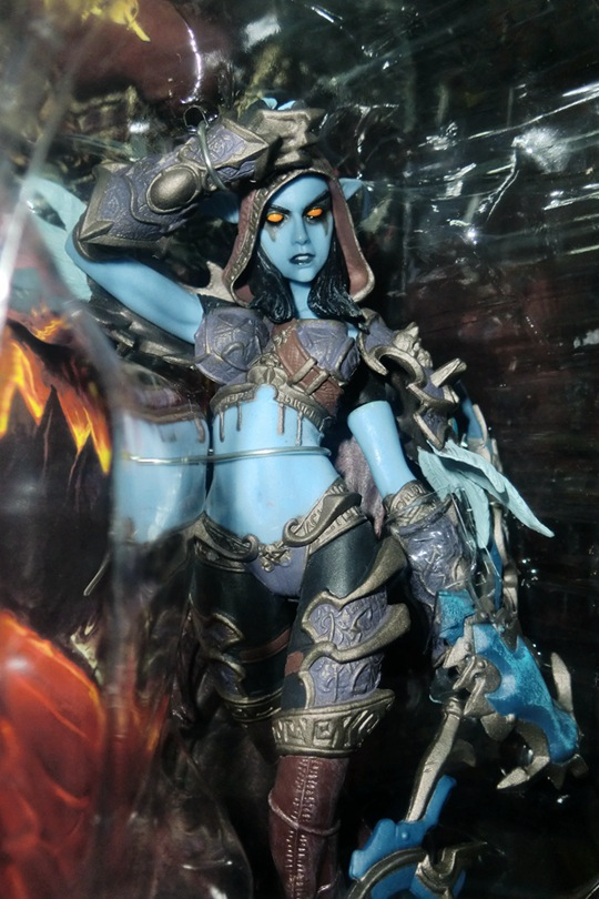 NEW in stock Forsaken Queen Sylvanas Windrunner Action Figure wow DC6 Collectible Toy 3