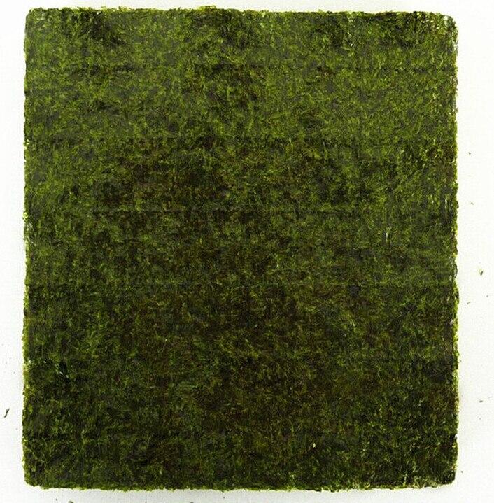 100 шт. суши нори морские водоросли, оптовая продажа с фабрики, качество AAA, темно-зеленая вторичная выпечка Нори Суши algues, Самые продаваемые Нори Суши-3