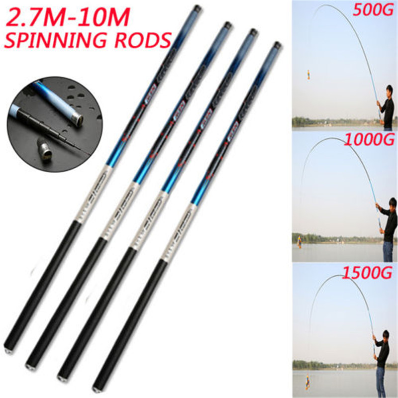 High Strength Carbon Fiber Carp Fishing Rod Telescopic Hand Pole River Lake Stream Fishing Rod Freshwater Fishing Tackle new upgraded 2 1m 2 4m 2 7m 3 0m telescopic automatic fishing rod without reel sea river lake pool fishing tackle pole device