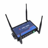 Q18044 USRIOT USR-G800-42 промышленный 4G беспроводной маршрутизатор TD-LTE и Network Сеть Поддержка веб-настройки Wi-Fi функция