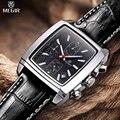 MEGIR Cronógrafo Reloj de Cuero de Los Hombres Los Hombres de Lujo Top Marca Militar Relojes de Cuarzo Relogio masculino/ML2028