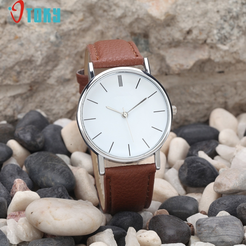 Excellent Quality OTOKY Women Retro Digital Dial Leather Band Quartz Analog Wrist Watch Watches Ladies Watch Women Perfect Gift