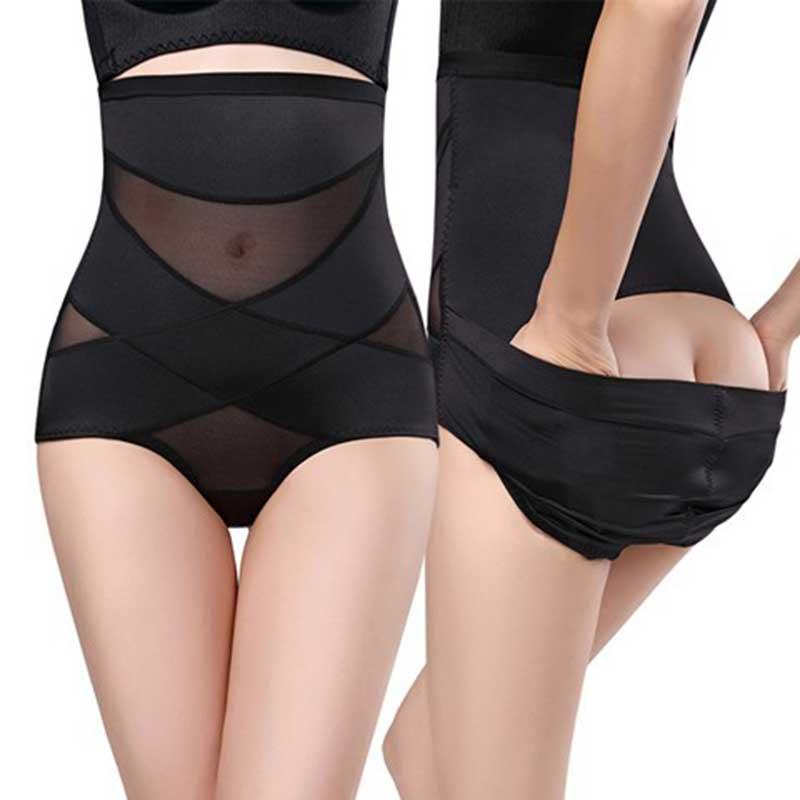 Erfinderisch Hohe Taille Dreieck Gestaltung Bauch Verband Bauch Höschen Postpartale Gestaltung Höschen Atmungs Body Shaper Abnehmen Unterwäsche SchöN Und Charmant