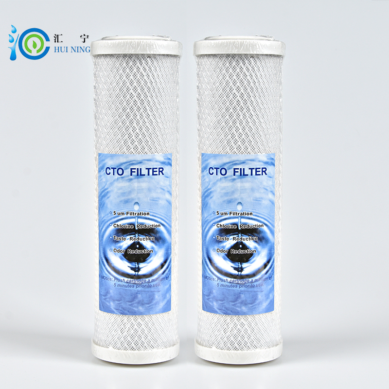 10 inches CTO carbon water filter Cartridge for water purifier system 2pcs/lot activated carbon filter