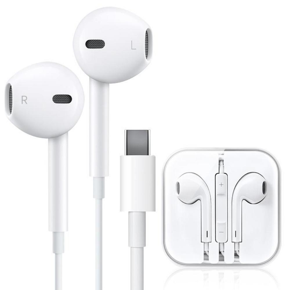 USB Digital Stereo Audio TypeC In Ear Earphone For Xiaomi Samsung HUAWEI Sport Wired Mic Earphones Headset Hifi Wire Control Aud