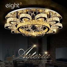 ФОТО Living room lights crystal Light Led bedroom ceiling Simple modern lighting Creative personality