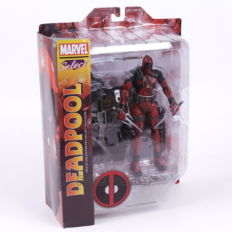 Select Deadpool Wade Wilson Special Collector Edition Action Figure Model Toy 18cm coldplay live stories special collector s edition