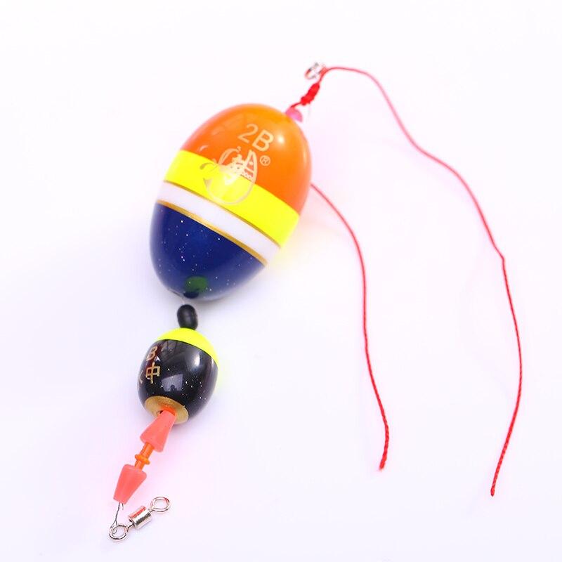 Открытая спортивная рыбалка соленой воды поплавок плавающий буяж набор Рыбалка - Цвет: 2B