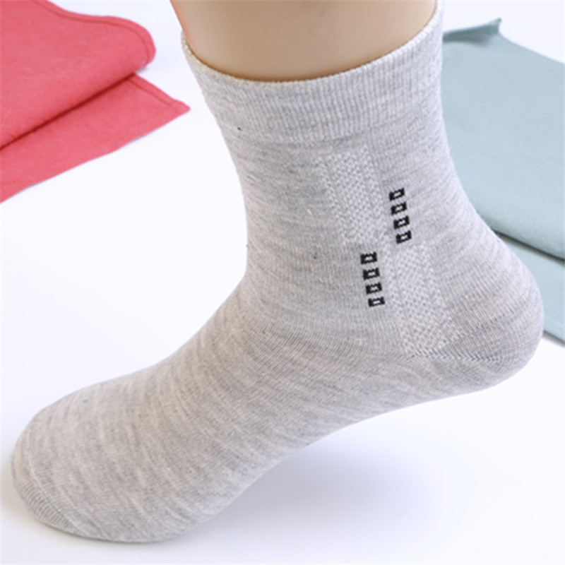 HARPIA 5 Color Cotton Business Socks Lot Mens Spring Autumn Regular Thickness Gray Black Soks Male Brand Quality Elastic Sock